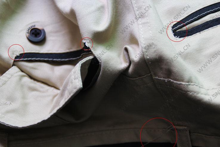 网购裤子质量